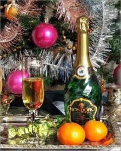 Šampanietis - Jaungada kartiņa 5