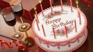 Dzimšanas dienas kūka - Dzimšanas dienas kartiņa 14