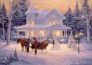 Ziemassvētku kartiņa 22