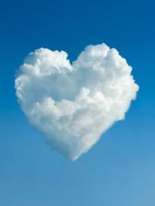 Sirds mākoņos - Romantiskas kartiņas  28
