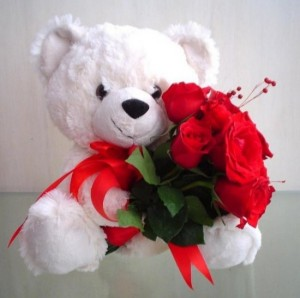 Lācēns ar rozēm - Kartiņas ar dzīvniekiem 12