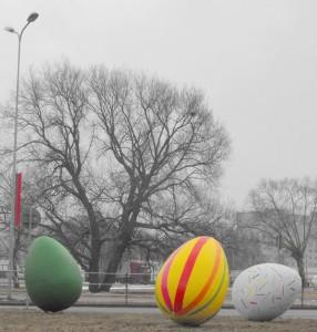 Milzīgas Lieldienu olas - Lieldienu kartiņa 27