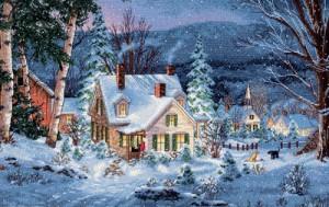Ziemassvētku kartiņa 28