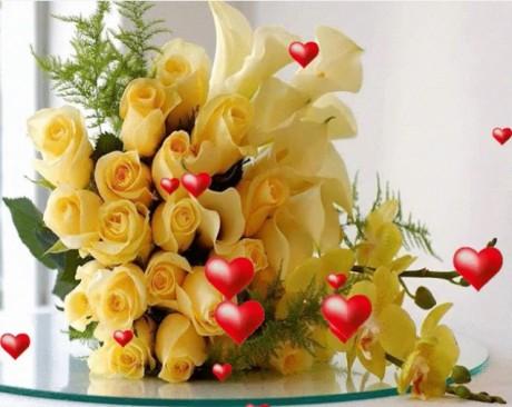Kartiņas ar ziediem 20