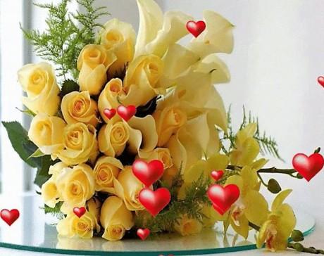 Kartiņas ar ziediem 111
