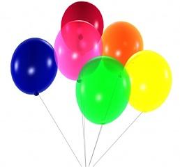 Baloni - Dzimšanas dienas kartiņa 11