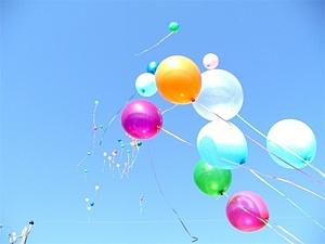 Baloni - Dzimšanas dienas kartiņa 4