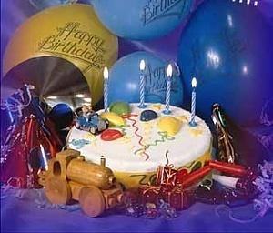 Dzimšanas dienas torte - Dzimšanas dienas kartiņa 15