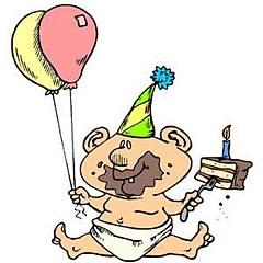 Kūkas ēdājs - Dzimšanas dienas kartiņa 15