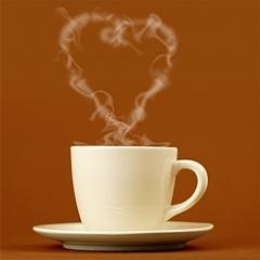 Kafijas sirds - Romantiskas kartiņas  12