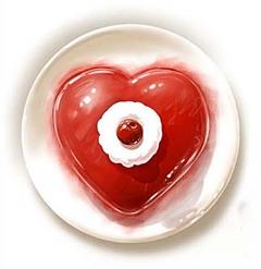 Sirds kūka - Romantiskas kartiņas  25