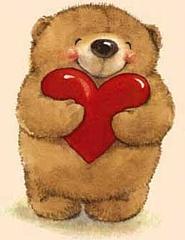 Lācēns ar sirdi - Romantiskas kartiņas  5