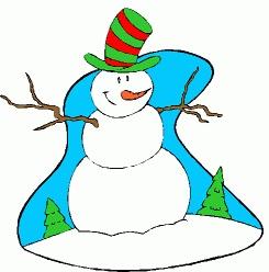 Sniegavīrs - Ziemas kartiņa 10